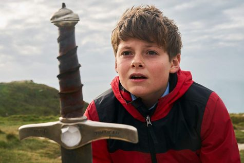 "Louis Ashbourne Serkis stars in ""The Kid Who Would Be King""."