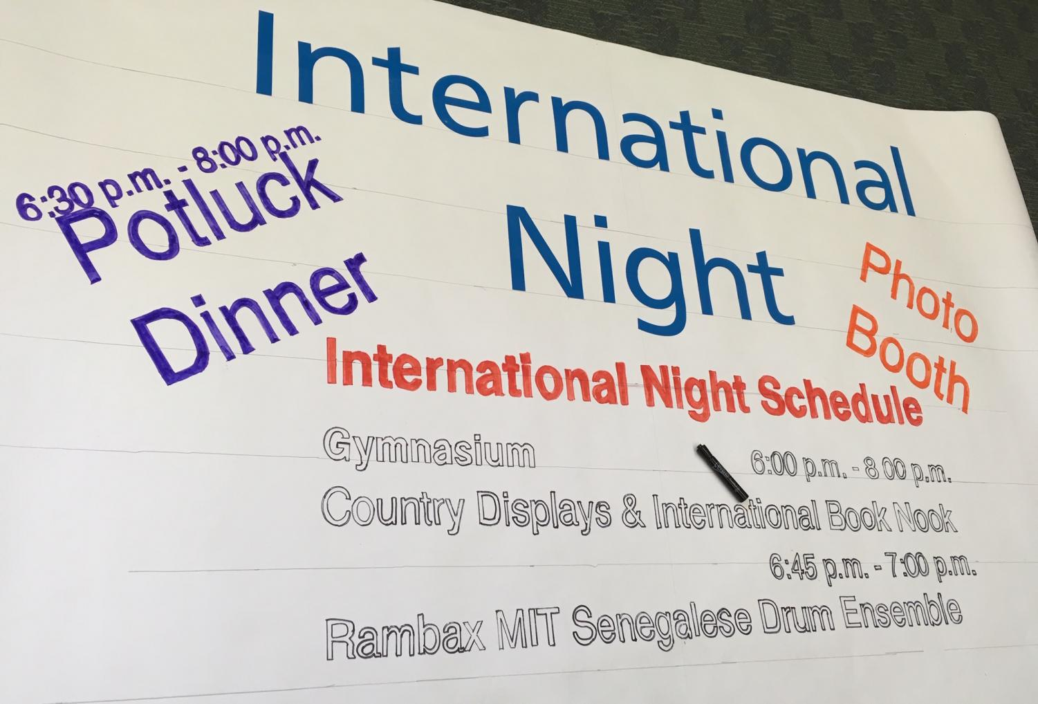 Hosmer to host International Night on March 28