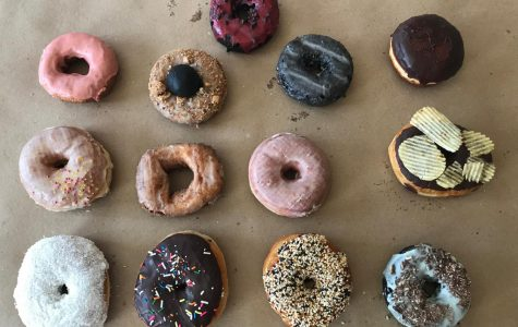 A selection of donuts for testing ... but which was judged to be the best?