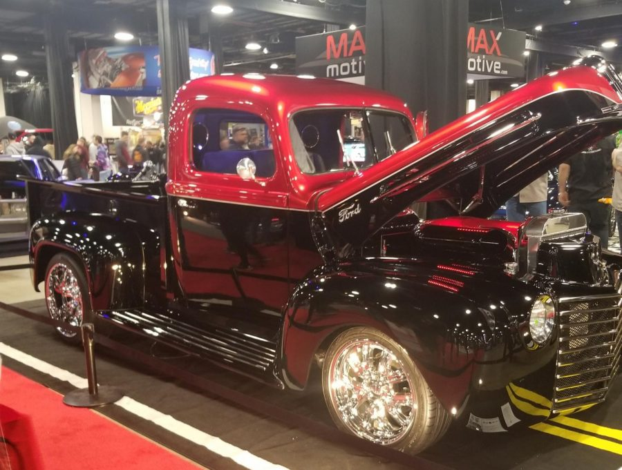 One of the featured cars at the 2019 Autorama World of Wheels at Boston Seaport Trade Center in March.